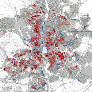 Urban effects of COVID-19 pandemic's first wave in Madrid – Efectos urbanos de la primera ola de la pandemia de COVID-19 en Madrid